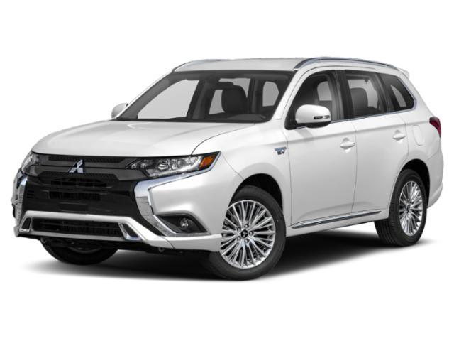 2020 Mitsubishi Outlander PHEV Pictures Outlander PHEV SEL S-AWC photos side front view