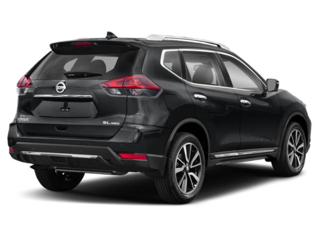 2020 Nissan Rogue Base Price AWD S Pricing side rear view