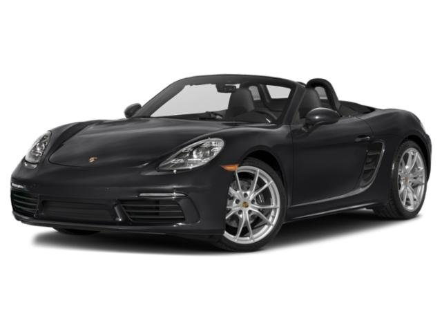 2020 Porsche 718 Boxster Base Price Roadster Pricing side front view