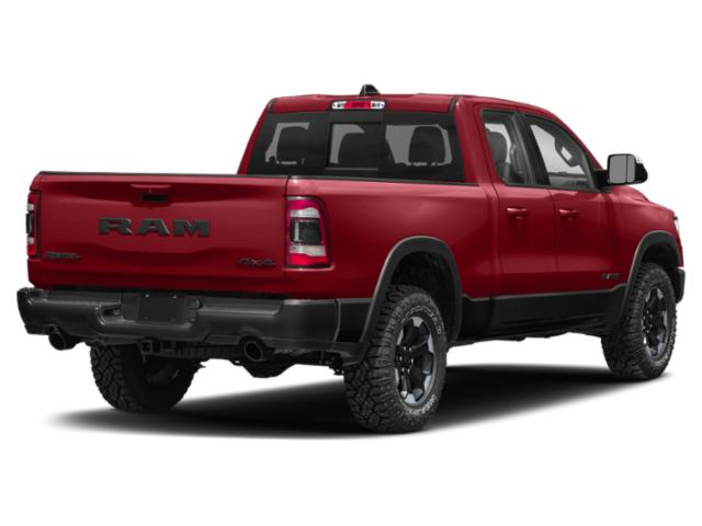 2020 Ram Truck 1500 Pictures 1500 HFE 4x2 Quad Cab 6'4 Box photos side rear view