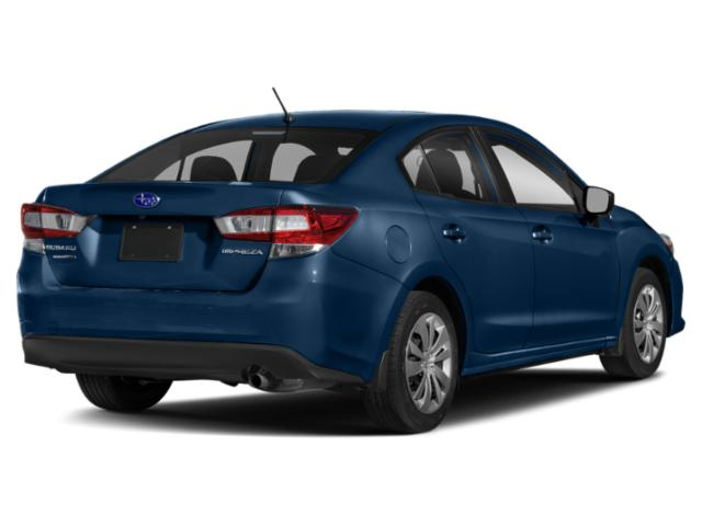2020 Subaru Impreza Pictures Impreza 4-door CVT photos side rear view