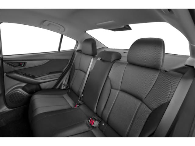 2020 Subaru Impreza Pictures Impreza 4-door CVT photos backseat interior