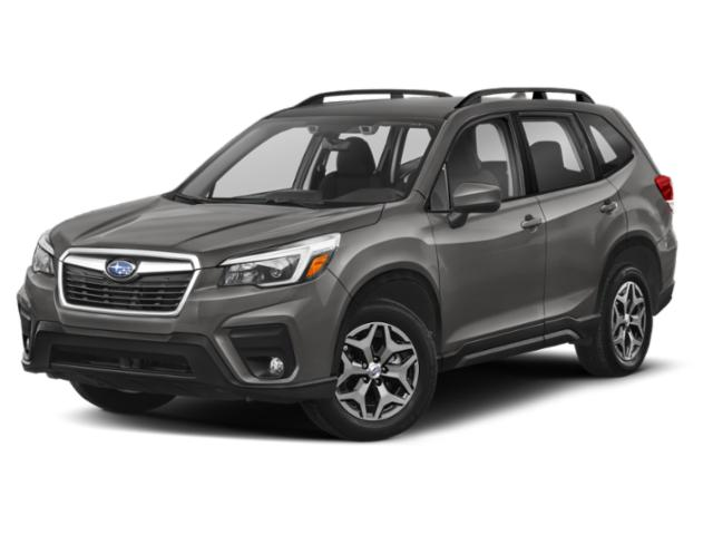 2020 Subaru Forester Base Price CVT Pricing side front view