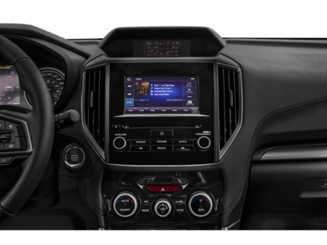 2020 Subaru Forester Base Price CVT Pricing stereo system