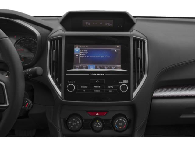2020 Subaru Crosstrek Base Price CVT Pricing stereo system