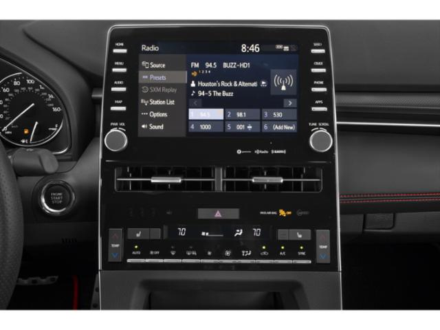 2020 Toyota Avalon Base Price XSE Pricing stereo system