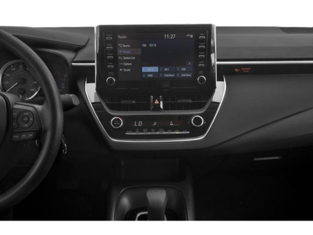 2020 Toyota Corolla Base Price L CVT Pricing stereo system