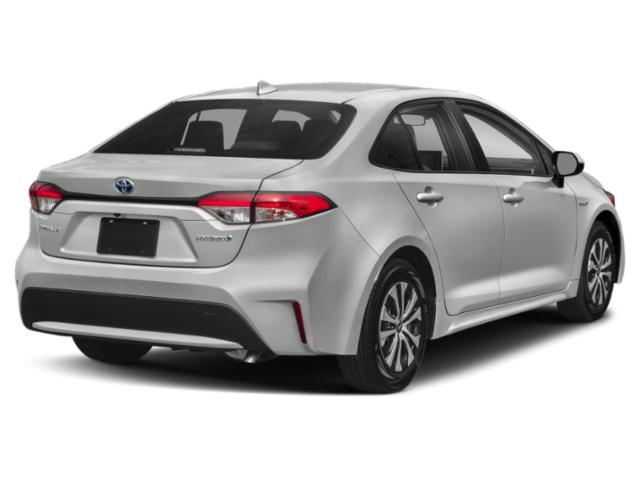 2020 Toyota Corolla Base Price Hybrid LE CVT Pricing side rear view