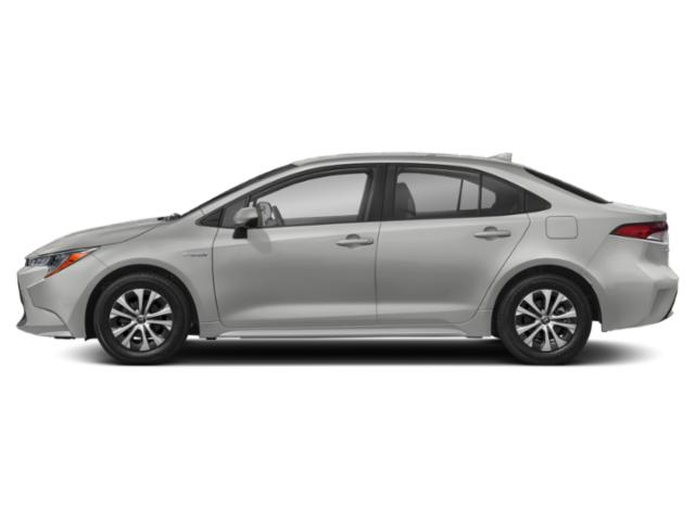 2020 Toyota Corolla Base Price Hybrid LE CVT Pricing side view