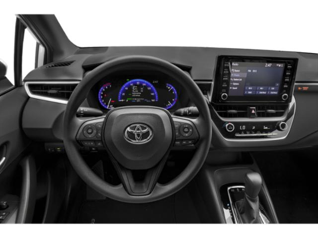 2020 Toyota Corolla Base Price Hybrid LE CVT Pricing driver's dashboard