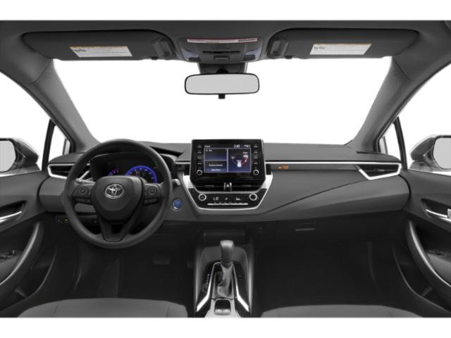 2020 Toyota Corolla Base Price Hybrid LE CVT Pricing full dashboard