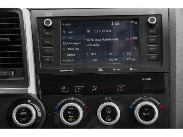 2020 Toyota Sequoia Base Price Limited RWD Pricing stereo system