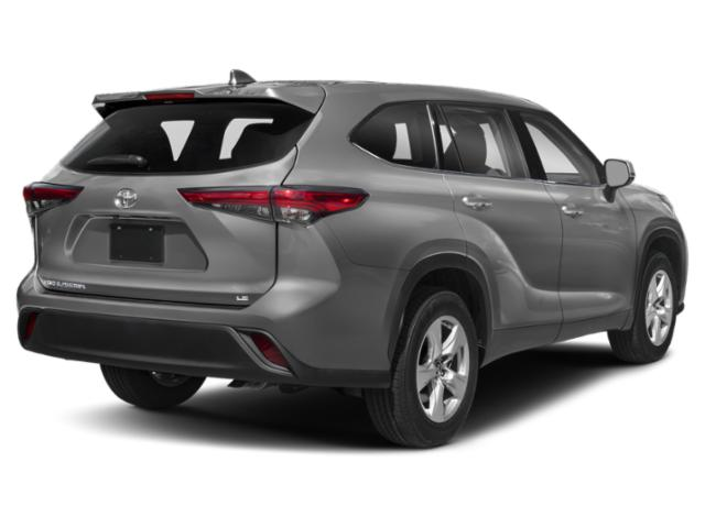 2020 Toyota Highlander Base Price XLE AWD Pricing side rear view