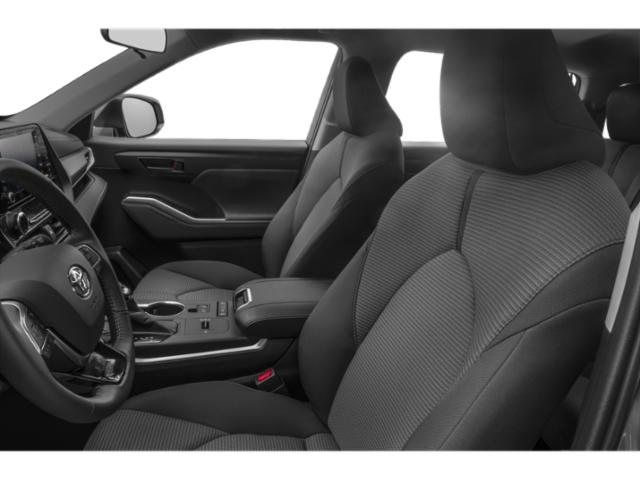 2020 Toyota Highlander Base Price XLE AWD Pricing front seat interior
