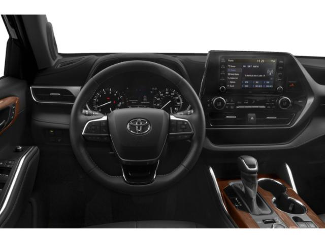 2020 Toyota Highlander Base Price XLE AWD Pricing driver's dashboard