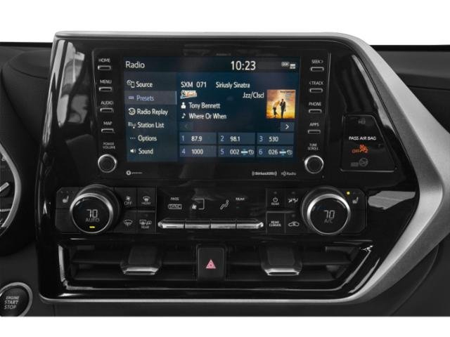 2020 Toyota Highlander Base Price XLE AWD Pricing stereo system