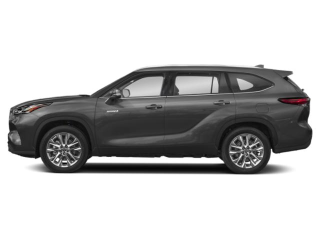 2020 Toyota Highlander Base Price Hybrid LE AWD Pricing side view
