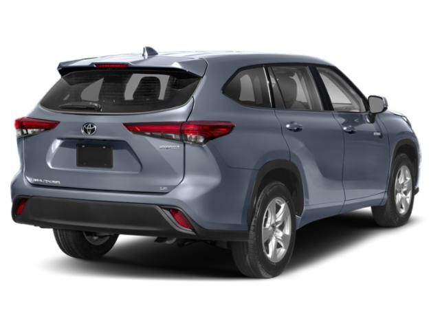 2020 Toyota Highlander Base Price Hybrid LE AWD Pricing side rear view