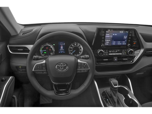 2020 Toyota Highlander Base Price Hybrid LE AWD Pricing driver's dashboard