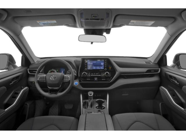 2020 Toyota Highlander Base Price Hybrid LE AWD Pricing full dashboard