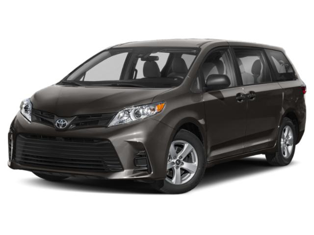 2020 Toyota Sienna Base Price L FWD 7-Passenger Pricing side front view