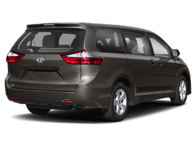 2020 Toyota Sienna Base Price L FWD 7-Passenger Pricing side rear view
