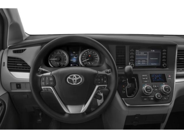 2020 Toyota Sienna Base Price L FWD 7-Passenger Pricing driver's dashboard