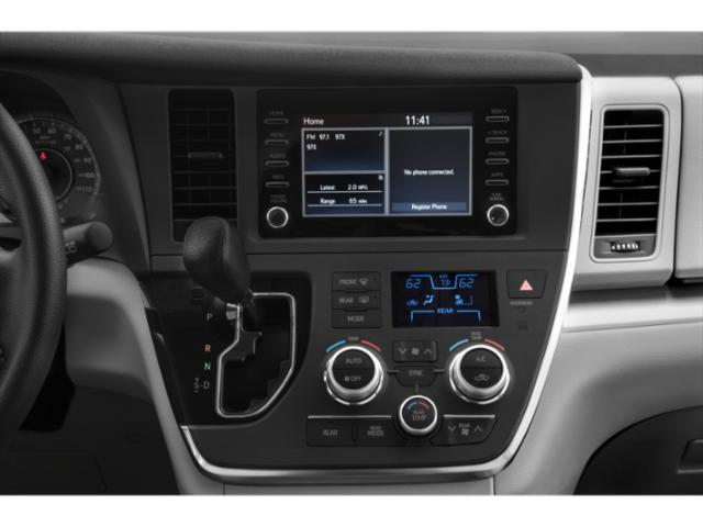 2020 Toyota Sienna Base Price L FWD 7-Passenger Pricing stereo system