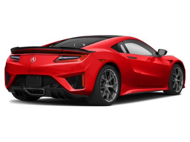 2021 Acura NSX Base Price Coupe Pricing side rear view