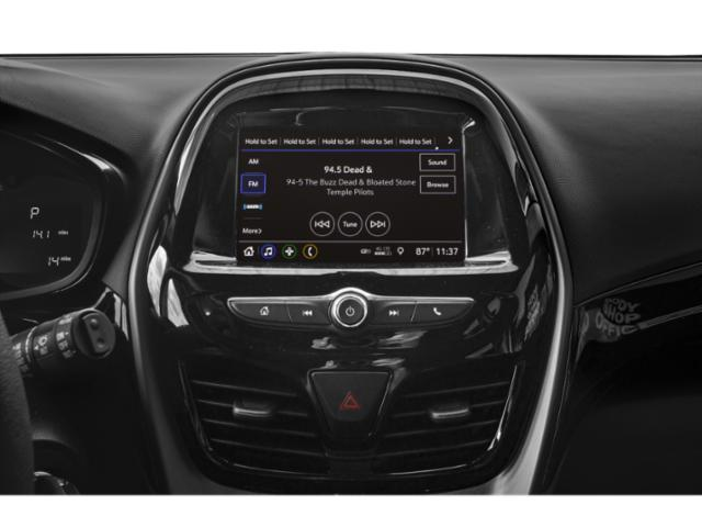 2021 Chevrolet Spark Base Price 4dr HB Man LS Pricing stereo system