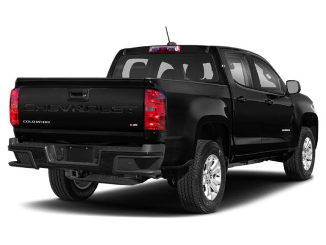 2021 Chevrolet Colorado Base Price 2WD Crew Cab 128 LT Pricing side rear view