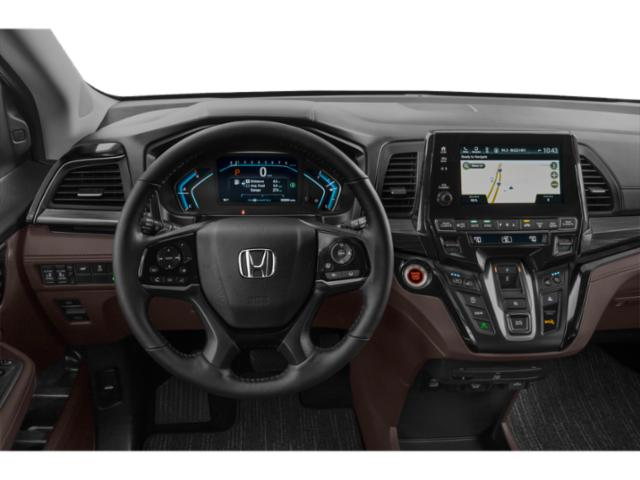 2021 Honda Odyssey Base Price Touring Auto Pricing driver's dashboard