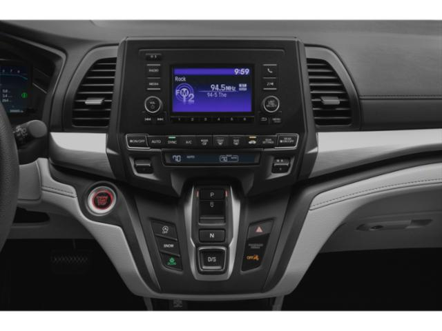 2021 Honda Odyssey Base Price Touring Auto Pricing stereo system