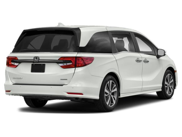 2021 Honda Odyssey Base Price Touring Auto Pricing side rear view