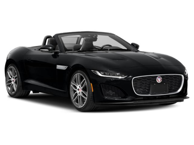 2021 Jaguar F-TYPE Base Price Coupe Auto P300 Pricing side front view
