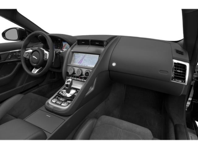 2021 Jaguar F-TYPE Base Price Coupe Auto P300 Pricing passenger's dashboard