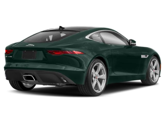2021 Jaguar F-TYPE Base Price Coupe Auto P300 Pricing side rear view
