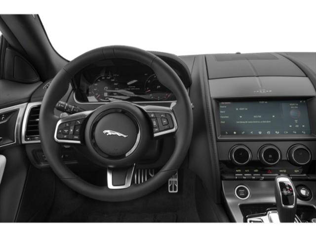 2021 Jaguar F-TYPE Base Price Coupe Auto P300 Pricing driver's dashboard