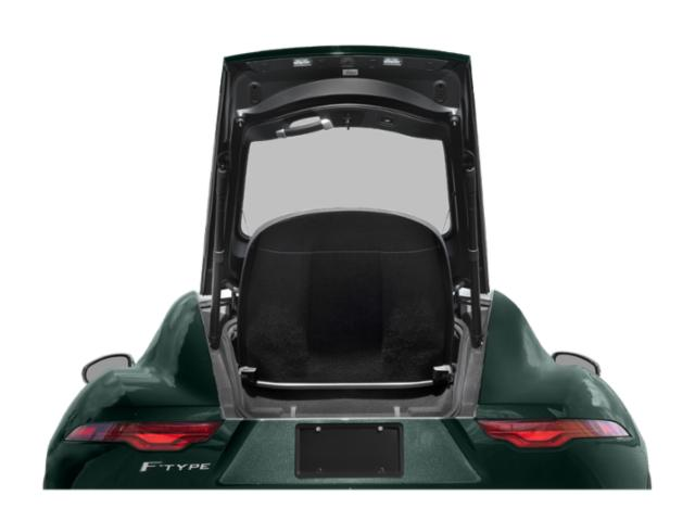 2021 Jaguar F-TYPE Base Price Coupe Auto P300 Pricing open trunk