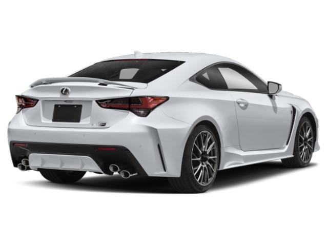 2021 Lexus RC F Base Price RC F RWD Pricing side rear view