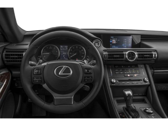 2021 Lexus RC Base Price RC 300 RWD Pricing driver's dashboard