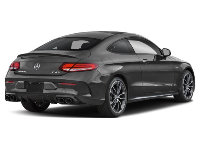 2021 Mercedes-Benz C-Class Base Price AMG C 43 4MATIC Sedan Pricing side rear view