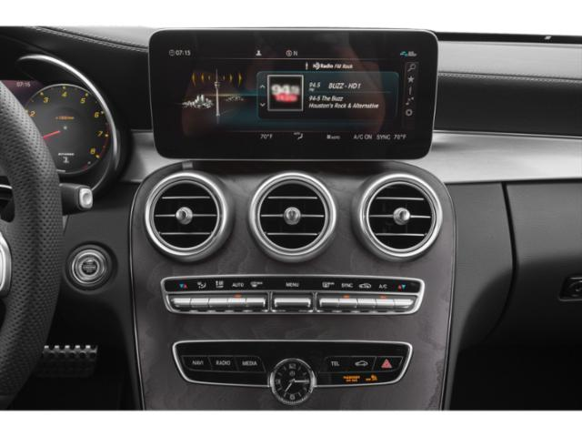 2021 Mercedes-Benz C-Class Base Price AMG C 43 4MATIC Sedan Pricing stereo system
