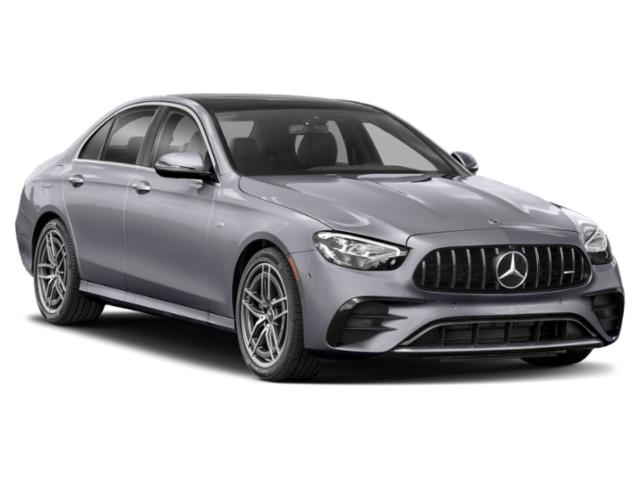 2021 Mercedes-Benz E-Class Base Price AMG E 53 4MATIC+ Sedan Pricing side front view