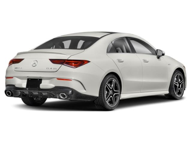 2021 Mercedes-Benz CLA Base Price AMG CLA 35 4MATIC Coupe Pricing side rear view