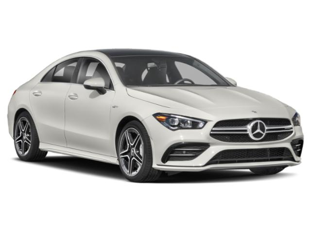 2021 Mercedes-Benz CLA Base Price AMG CLA 35 4MATIC Coupe Pricing side front view