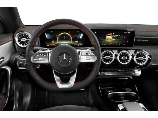 2021 Mercedes-Benz CLA Base Price AMG CLA 35 4MATIC Coupe Pricing driver's dashboard