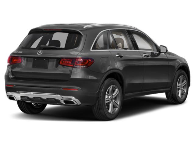 2021 Mercedes-Benz GLC Base Price GLC 300 4MATIC SUV Pricing side rear view