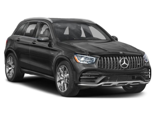2021 Mercedes-Benz GLC Base Price AMG GLC 43 4MATIC SUV Pricing side front view