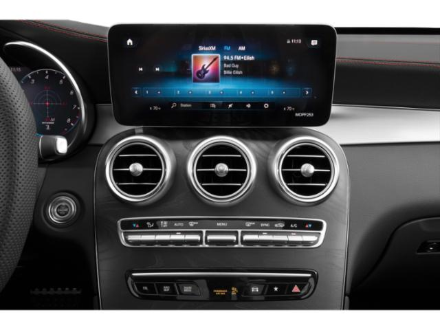 2021 Mercedes-Benz GLC Base Price AMG GLC 43 4MATIC SUV Pricing stereo system